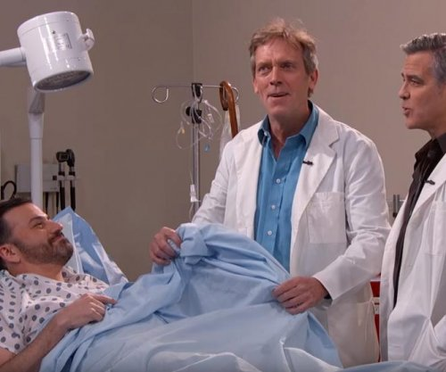 George Clooney, Hugh Laurie star in 'E.R.' and 'House' mashup on 'Jimmy Kimmel Live'