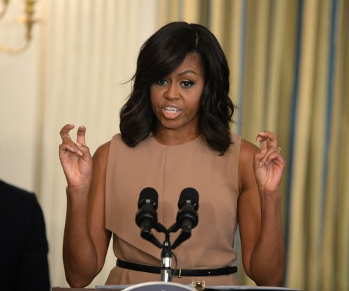 First lady urges students to protect civil rights, targets 'religious freedom' bill