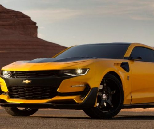 'Transformers' director Michael Bay unveils new 'Bumblebee' Camaro for latest film