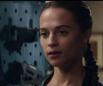 Alicia Vikander is a survivor in new 'Tomb Raider' trailer