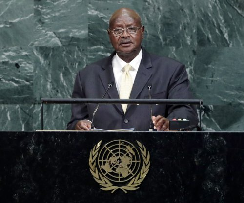 Uganda president urges African nations to take responsibility for peace
