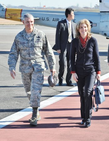 Envoy Caroline Kennedy says China's defense zone undercuts security