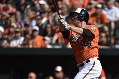 Mark Trumbo powers Baltimore Orioles over Cleveland Indians