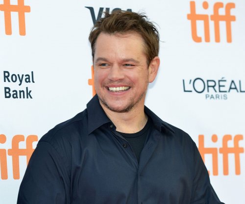 Matt Damon brings 'Great Wall' trailer to New York Comic Con on his 46th birthday