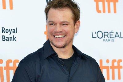 Matt Damon brings 'Great Wall' trailer to New York Comic Con on his 46th birthday
