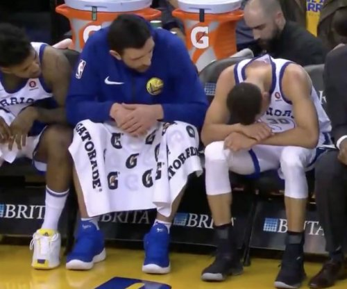 Warriors' Stephen Curry out for rest of regular season