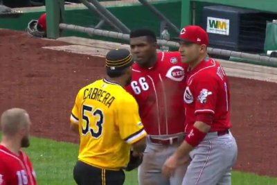 Yasiel Puig among five ejected after benches clear during Pirates-Reds altercation