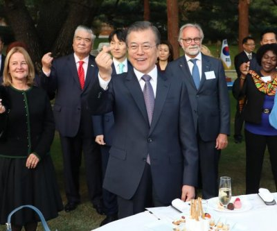 Moon Jae-in's encounter with Japan envoy raises hopes of improved ties