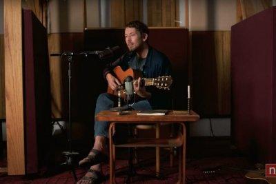 Fleet Foxes singer Robin Pecknold performs Tiny Desk concert