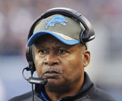Megatron: Detroit Lions players back Jim Caldwell