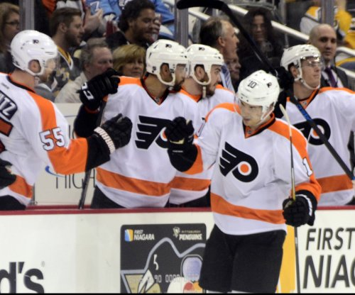 Brayden Schenn's hat trick powers Philadelphia Flyers past Dallas Stars