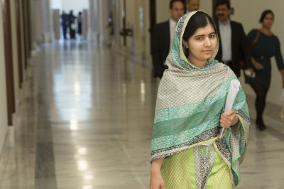 U.N. names Malala Yousafazi a messenger of peace