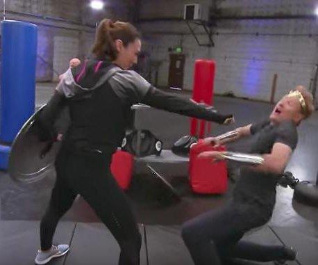 Conan O'Brien undergoes 'Wonder Woman' training with Gal Gadot