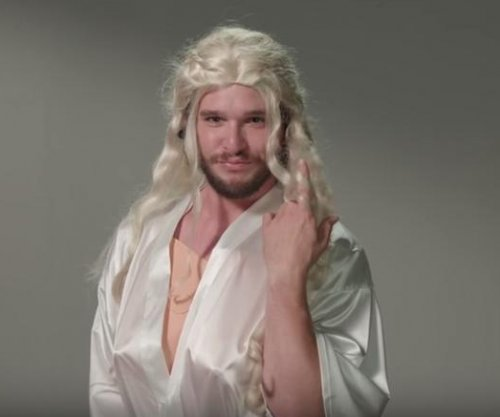 Kit Harington auditions as Daenerys in 'Jimmy Kimmel' sketch