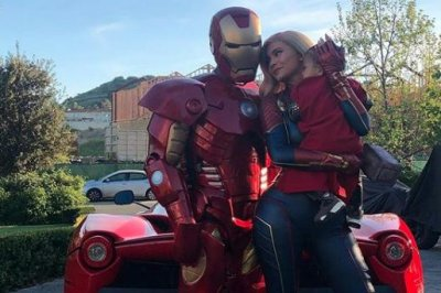 Kylie Jenner, Travis Scott, daughter Stormi dress up as 'Avengers' characters