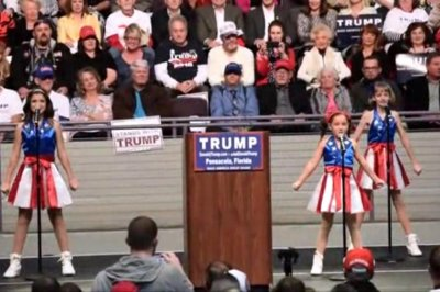 'USA Freedom Kids' perform at Florida Trump rally