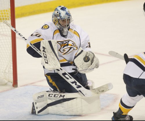 Juuse Saros, Nashville Predators shut out St. Louis Blues