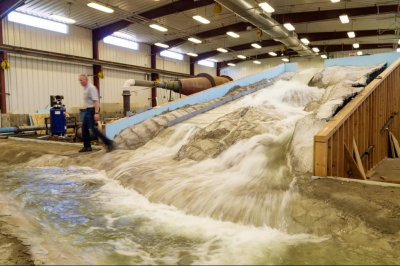 Oroville Dam in miniature: Scale model helps repair damaged spillway