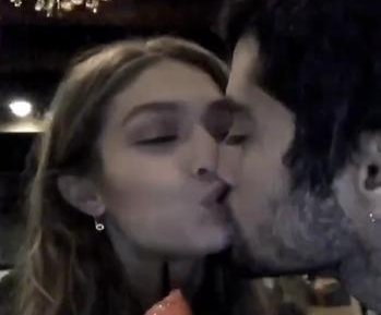 Gigi Hadid, Zayn Malik share kiss on two-year anniversary
