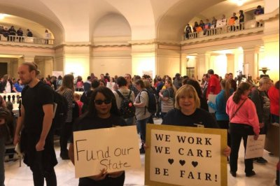 Oklahoma teachers, students set for third day of walkout