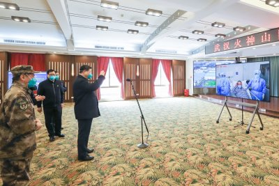Xi Jinping visits Wuhan amid drop in COVID-19 cases in China