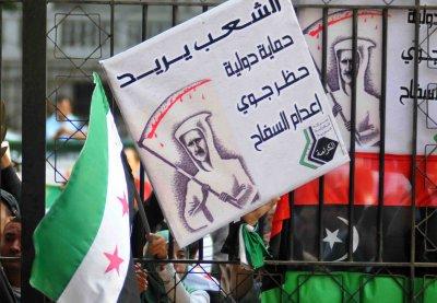 Syria blames U.S. for bloodshed