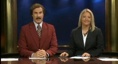 Ron Burgundy anchors real-life North Dakota newscast [VIDEO]