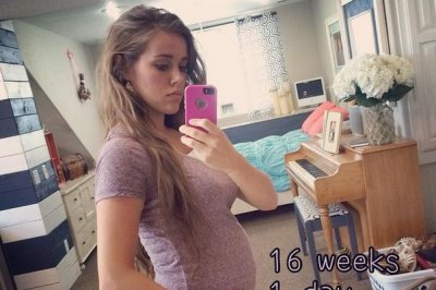 Jessa Duggar shares baby bump photo at 16 weeks