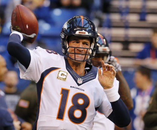 Denver Broncos QB Peyton Manning probable for San Diego Chargers