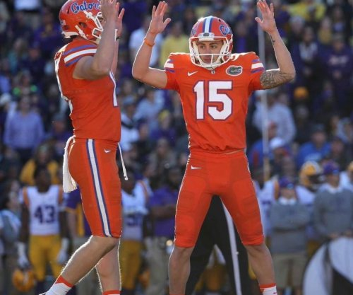 Florida kicker makes 81-yard field goal