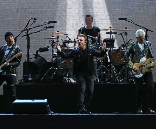 U2 release new song 'The Blackout' from 'Songs of Experience' album