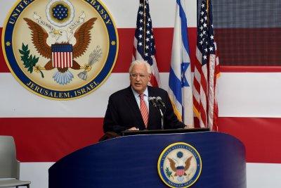 U.S. ambassor calls for Palenstinians to release American