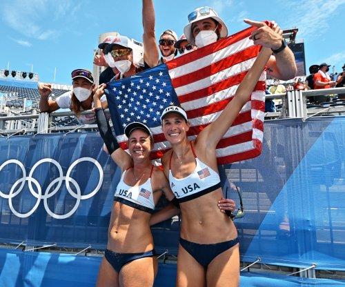 Americans Alix Klineman, April Ross win gold in beach volleyball