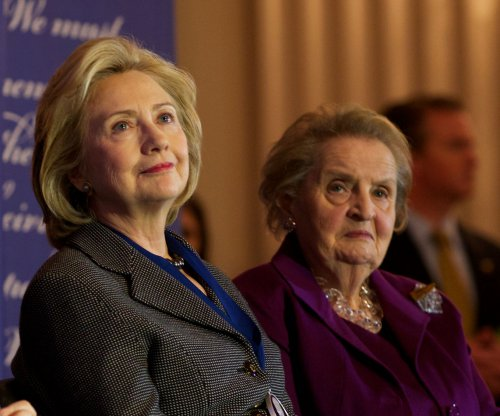 Madeleine Albright and Gloria Steinem scold young women for not supporting Clinton