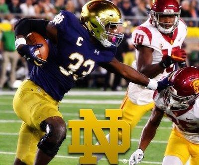 No. 8 Notre Dame looks to bounce back vs. Navy