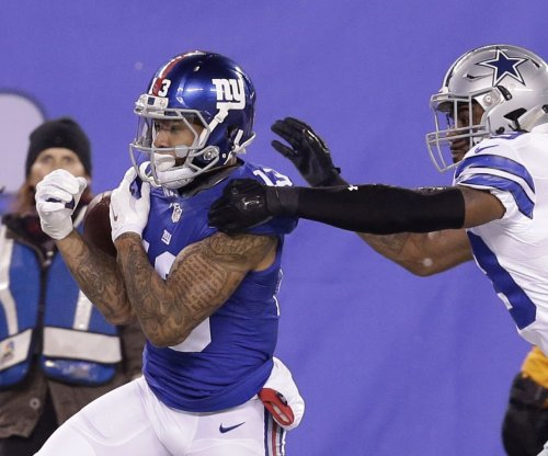 Beckham Jr. staying with Giants, Landry says