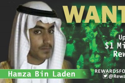 U.S. offers $1M reward for Osama Bin Laden's son