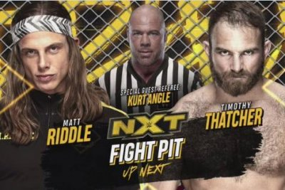 WWE NXT: Matt Riddle, Timothy Thatcher battle inside a Fight Pit