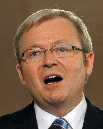 Kevin Rudd sworn in as Australia's prime minister -- again