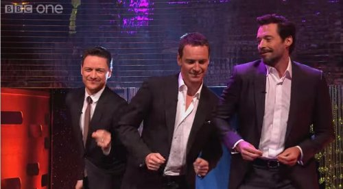 Hugh Jackman, Michael Fassbender, James McAvoy dance to 'Blurred Lines' [VIDEO]