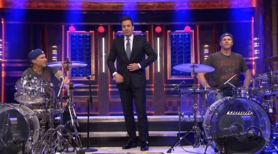 Will Ferrell and Chad Smith have drum-off on 'Tonight Show'
