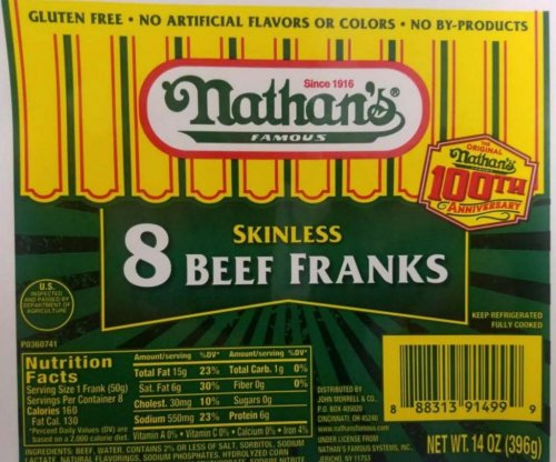 More than 100 tons of hot dogs containing metal pieces recalled