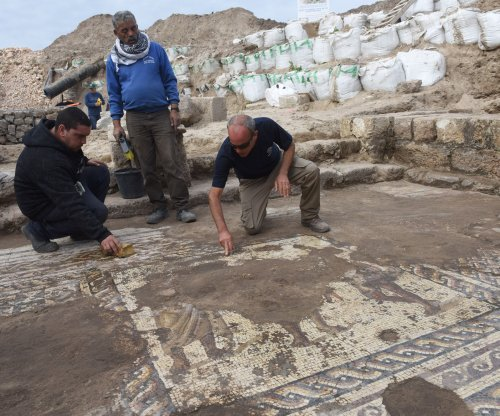 Ancient Roman mosaic discovered in Israel