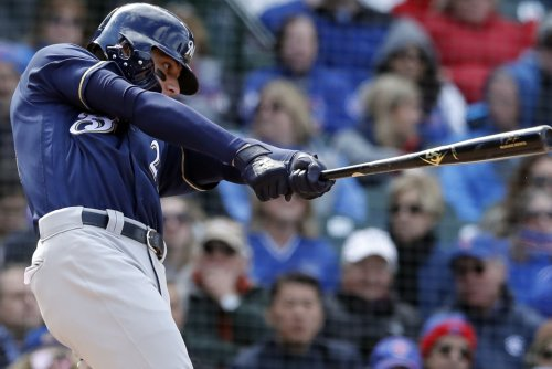 Brewers' Christian Yelich hits for second cycle of 2018