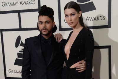 Bella Hadid embraces The Weeknd in intimate birthday photos