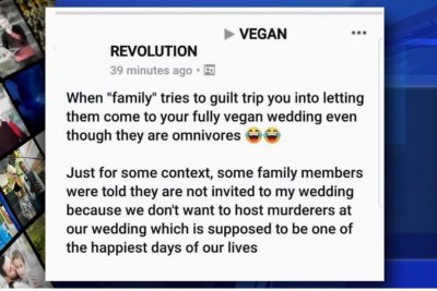 Vegan bride-to-be bans meat eaters from her wedding