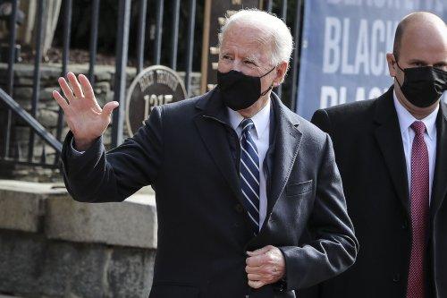 President Joe Biden attends first church service since inauguration