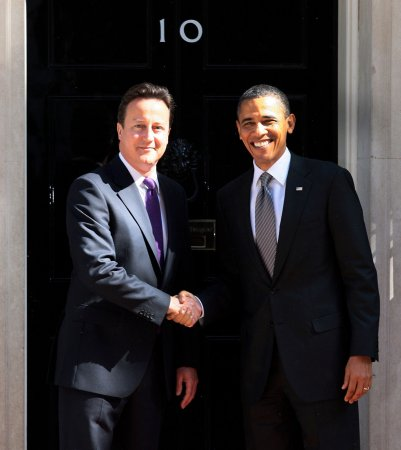 Cameron's popularity sinks