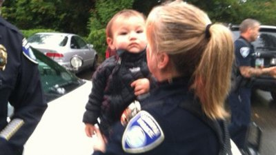 Quick-thinking teen alerts cops to kidnapped baby