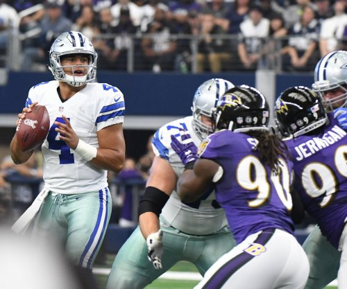 Dak Prescott's 3 TD passes carry Dallas Cowboys over Baltimore Ravens